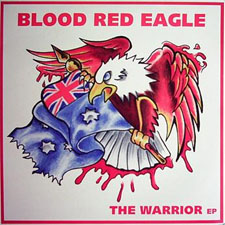 Blood Red Eagle - The Warrior - Vinyl (2003) framsida